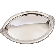 20th Century Edwardian Silver Plated Serving Tray, Circa 1905