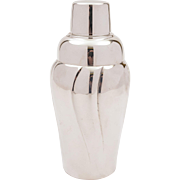 Vintage WMF Silver Plated Cocktail Shaker, Circa 1960