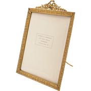 Edwardian Gilded Bronze Picture Frame, Circa 1905