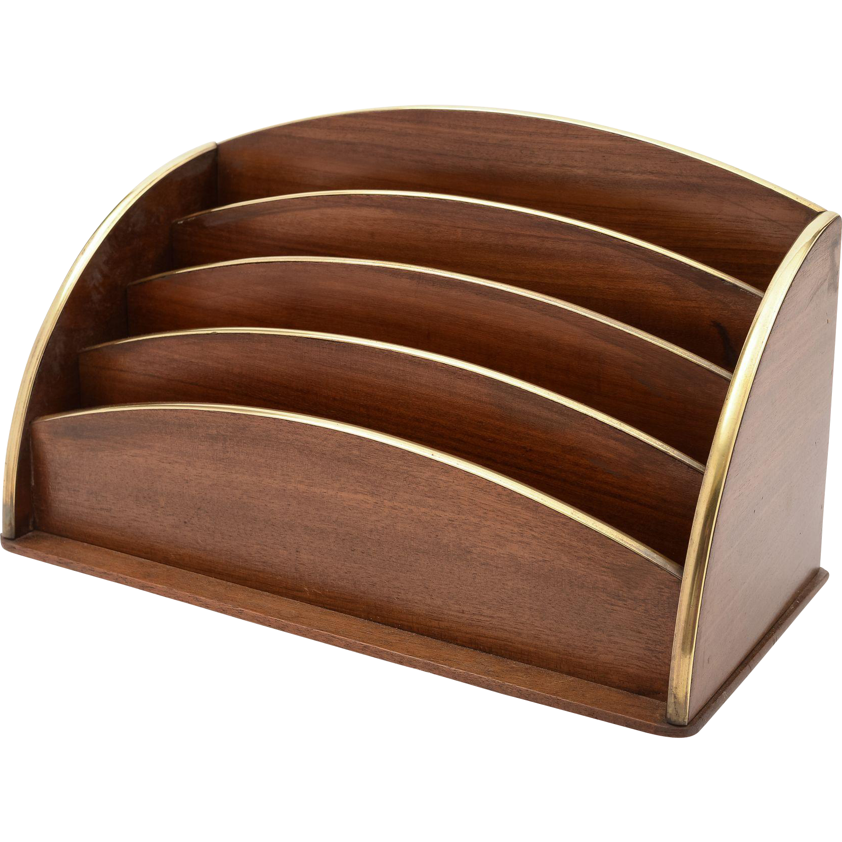 French Art Deco Document/Letter Rack, Circa 1930