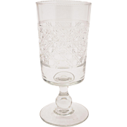 Edwardian Cut Glass Celery Vase, Circa 1905