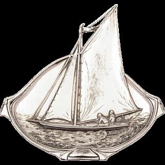 WMF Pewter Dish, Circa 1900