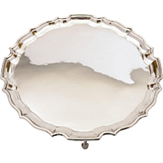 Art Deco Silver Plated Salver, Circa 1930