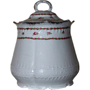 Victoria Austria China Biscuit Jar 1904 - 1918