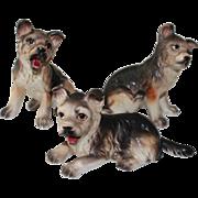 GSD (German Shepherd Dogs) Porcelain Figurines
