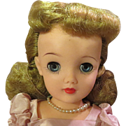 C1950 Ideal VT-18 Miss Revlon Doll in Original Tagged Outfit, Gorgeous!