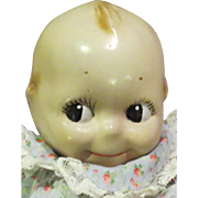 C1920 Composition Factory Original Rose O'Neill Kewpie Carnival Doll, Incredible