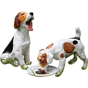 Royal Doulton : a set of 2 lovely dogs from the '' Dogs of character '' series.