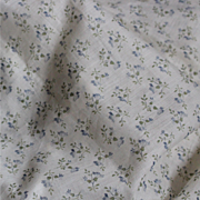A 6,12 yards length of ancient French charming cotton batiste with floral pattern,about 30 inches wide.