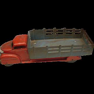 """Marx Stake Body Truck circa 1930""""s Orignal Condition"""