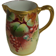 Pickard Handpainted Creamer-Blank Made in France