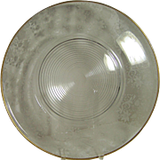 "Cambridge Wildflower 17"" Plate"