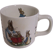 Beatrix Potter Child's Cup
