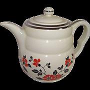 Hall Red Poppy Daniel Coffee Pot