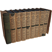 9 Volume Set of John Burroughs Complete Nature Writings