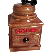 McCoy Coffee Mill Cookie Jar