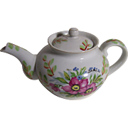 Occupied Japan Teapot with Pink Flowers