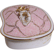 Lefton Pink Dresser or Trinket Box