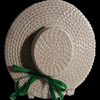"""Straw Hat"" Wall Pocket"