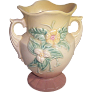 Hull Vase Marked W-4 and 6 and 1/2 Inch