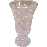 Marked Waterford Crystal Vase