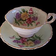 Paragon China Tea Cup and Saucer