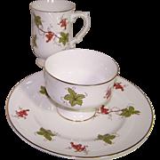 Set of 6 Dessert Place Settings-Plates, Mugs and Dessert Bowls-Various Designs