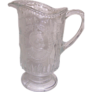 Beatty-Brady Spanish-American War Victory at Manila Bay Commemorative Water Pitcher.