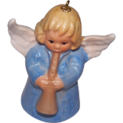 Blue Goebel Angel Bell