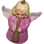 1976 Pink Goebel Angel Bell