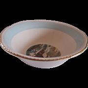 Homer Laughlin Blue Heaven Serving Bowl