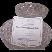 Pair of Lenox Crystal Bowls