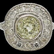 Platinum & Diamonds Engagement Ring