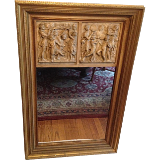 Trumeau Wall Mirror  1820 - 50