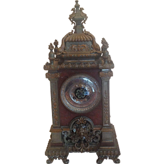 Tiffany & Co., Shelf, Mantle Clock   1845 - 50