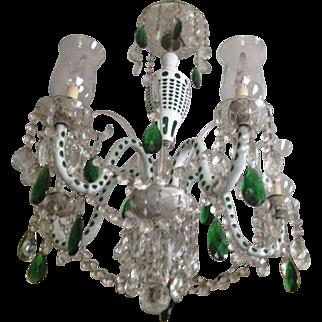 Bohemian Crystal Chandelier,  1930 - 40