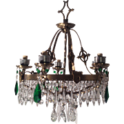 Crystal Chandelier, Scottish Renaissance, 1920