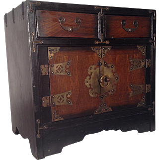 Korean Jewelry Chest,  1880