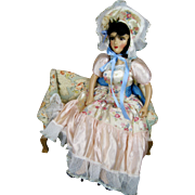 Vintage 1940s Forever Amber Boudoir Doll Bed Doll