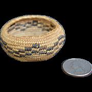 Miniature Pomo Basket - Vintage California Native American