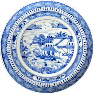 Early 19th Century Nanking Plate