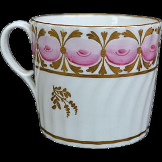 English Porcelain Coffee Can circa 1790