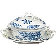 Dr. Wall Worcester Butter Tub circa 1770