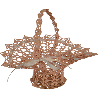 American Sailor Art Knotted Twine Basket