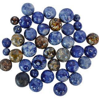 Group of Bennington  Marbles