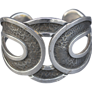 Vintage Margot de Taxco Sterling Cuff Bracelet