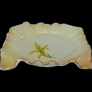 Early Hampshire Pottery Dish