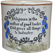 Staffordshire Childs Mug - early 19th Century