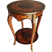 19th Century French Two Tier Occasional Table