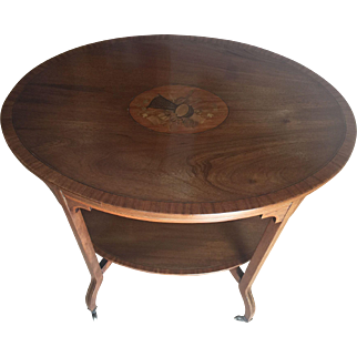 19C English Edwardian Occasional Table